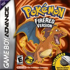 Pokemon FireRed Version.