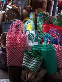 The bayong, a traditional utility bag.