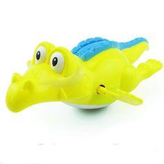 1PC Hot Sale Swimming Bath Crocodile Wind Toy
