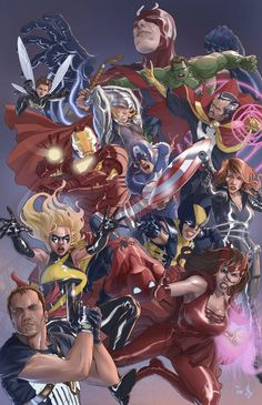Marvel Heroes - Bentti Bisson