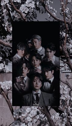 Bts Group Picture, Bts Group Photos, Bts Aesthetic Wallpaper For Phone, Aesthetic Wallpapers, Foto Bts, Bts Wallpaper Lyrics, Bts Backgrounds, Bts Beautiful, Bts Aesthetic Pictures