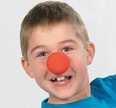 ONE DOZEN FOAM PARTY CLOWN NOSES - EACH INDIVIDUALLY SEALED! by McToy, http://www.amazon.com/dp/B003KEHYP2/ref=cm_sw_r_pi_dp_Bx6Nrb1MG98QY