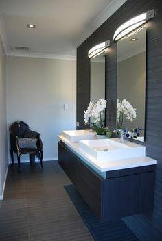 Narrow Bathroom Inspiration - Bathroom Design Ideas