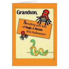 halloween greetings for grandchildren