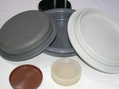 tapas Tapas, Industrial, Garden Pots, Plates, Tableware, Natural Rubber, Bronze, Licence Plates, Dishes