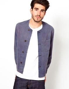 Gant Rugger Collarless Workers Jacket