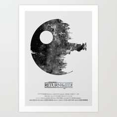 Buy Star Wars - Return of the Jedi Art Print by hydrology. Worldwide shipping available at Society6.com. Just one of millions of high quality products available.