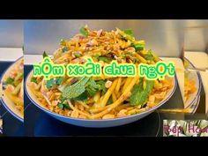 (1705) Nộm xoài chua ngọt_làm nhanh nộm xoài chua ngọt vô cùng hấp dẫn cùng Bếp Hoa - YouTube