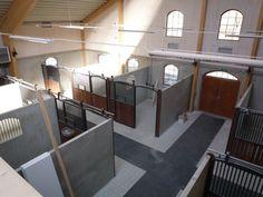 Concrete internal stables / horse barn, Sweden Novab.se » Ridhus/stall | Equestrian Architecture and Design