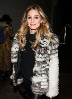 OLIVIA PALERMO'S HAIR WAS THE REAL WINNER OF NYFW - Dennis Basso Fall 2016 show - February 16, 2016 #nyfw