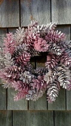 Pinecone Wreath – Pretty In Pink – Made to Order – Customize your colors Guirlande pomme de pin Pretty In Pink fait par scarletsmileAnanaskrone 12 & # & # Pretty In Pink gemacht von scarletsmile Source bypinecone wreath, fresh wreath, pink wrea Pine Cone Art, Pine Cone Crafts, Pine Cones, Pine Cone Wreath, Fresh Wreath, Pink Wreath, Pine Cone Decorations, Christmas Decorations, Christmas Ornaments