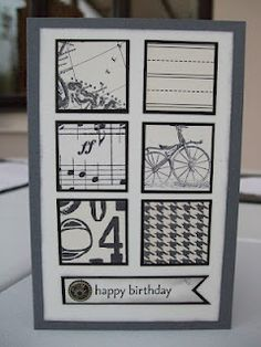easy male card, MaKing Papercrafts
