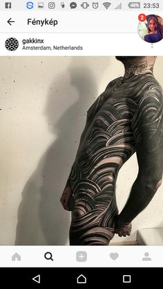 Finished some leg area today at . Still more to go,Nicolas! Full Sleeve Tattoo Design, Full Body Tattoo, Body Art Tattoos, Sleeve Tattoos, Symbolic Tattoos, Unique Tattoos, Gakkin Tattoo, Hairline Tattoos, Blackout Tattoo