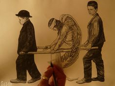 L'angelo ferito [drawing] | Flickr - Photo Sharing!