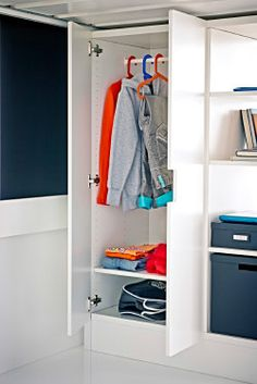 Chambre enfant on pinterest teenage bedrooms storage beds and ikea hackers - Armoire blanche enfant ...