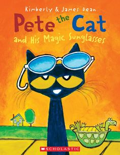 Pete the Cat and His Magic Sunglasses by James Dean. Pete the Cat wakes up feeling grumpy—nothing seems to be going his way. But with the help of some magic sunglasses, Pete learns that a good mood has been inside him all along. James Dean, Pete The Cats, Cat Sunglasses, Sunglasses Price, Personalized Books, Children's Literature, Read Aloud, Story Time, Childrens Books