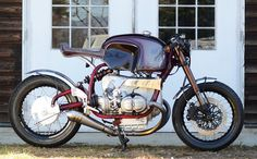 forthefreshkids - caferacerpasion:   BMW R100S '76 Cafe Racer by...