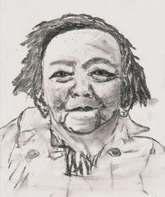 J. H. Art, Painting, Watercolor Art, Male Sketch