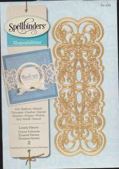 SPELLBINDERS VICTORIAN DIES ~ S4-483 ~ LONELY HEARTS ~ NEW RELEASE   eBay