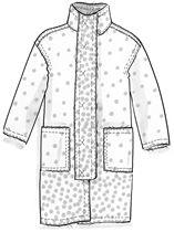 """Manteau """"Punto"""" en laine–Manteaux & vestes–GUDRUN SJÖDÉN – Kläder Online & Postorder"""