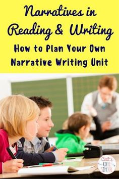 Cait's Cool School: The one about narratives in reading and writing {part 2}