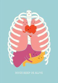 Everybody just need to hug!