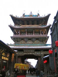 The beautiful and magical town of Pingyao in Shanxi Province (China)