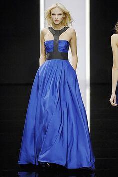 Elie Saab Spring 2008 Ready-to-Wear Fashion Show - Anna Tokarska