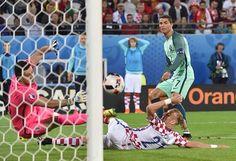 Cristiano Ronando Portugal vs Croacia  Eurocopa 2016