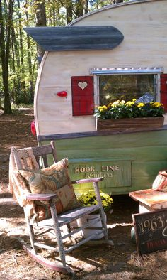 this is a trailer from a sister on the fly in country living fair in st. mountain ga last year