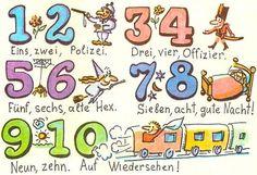 Uczymy się liczyć po niemiecku!!   Zahlen auf Deutsch             Do przećwiczenia:   http://10pin.pl/liczebniki-cwiczenie/  http://www...