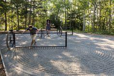 This Zen Garden Inspired Installation Is One Of The Winners At The 2015 Jardin de Metis Garden Festival