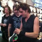 Signing At The Merch Table  #ArtOfDying #Merch #RockBand