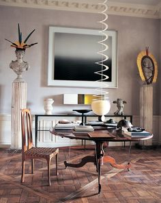 Long a reigning star in France, interior designer extraordinaire <b>Jacques Grange</b> counts Yves Saint Laurent, Aerin Lauder, Princess Caroline of Monaco and Francis Ford Coppola — just to name a few — among his star-studded clients.