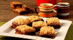 Brownie com gostinho de café e cobertura cremosa de paçoca: in-crí-vel! - Bolsa de Mulher