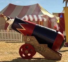 Diy cannon prop circus - Google Search