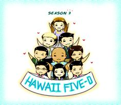 Very cool drawing from an Hawaii Five-O Fan in Thailand #H50