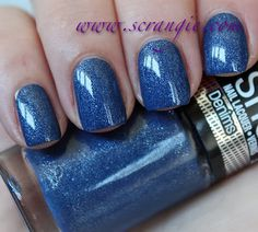 Scrangie: New Maybelline Color Show Nail Lacquer Collection Swatches and Review