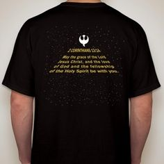 The Lord Be With You Star Wars T-shirt