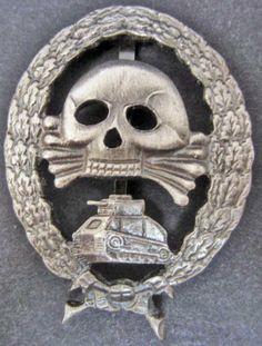 Imperial German Army Tank Badge.