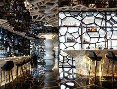 Уникальный интерьер самого высотного бара в Мире – фото