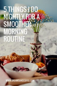 We follow a detailed daily routine to help our household stay on track, and I wanted to focus in particular on 5 things I do each night that leads to a smooth and organized morning routine the next day.
