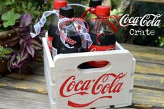 DIY Coca-Cola Crate-