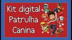 Super Kit Digital Patrulha Canina com 126 imagens