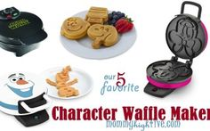 5 Good Character Waffle Makers for Kids