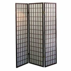 3 Panel Room Screen Divider Cherry By Legacy Decor 37 75 Made Of