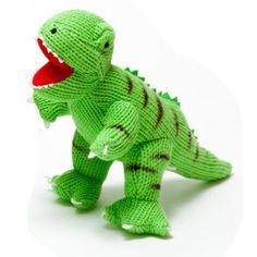 best years Knitted Green T Rex Soft Dinosaur Toy baby boys T Rex Toys, Rat Toys, Dinosaur Toys, Dinosaur Stuffed Animal, Harry Potter Dolls, Animal Knitting Patterns, Knitting Ideas, Hobbies For Girls, The Good Dinosaur