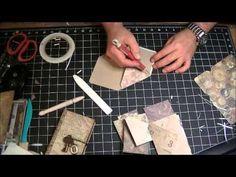 How To Make an Envelope Mini by TheGentlemanCrafter #video #WRMKTheEnvelopePunch