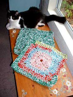 Jennifer's 20 Minute Pet Rug  - free crochet pattern
