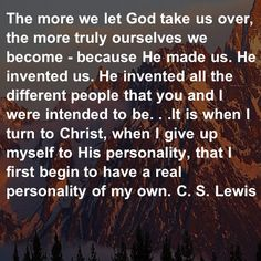 CS Lewis. Individuality in Christ